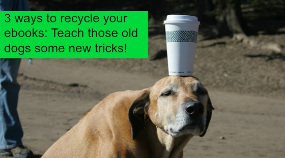 Post image for 3 ways to teach your old ebook some new tricks
