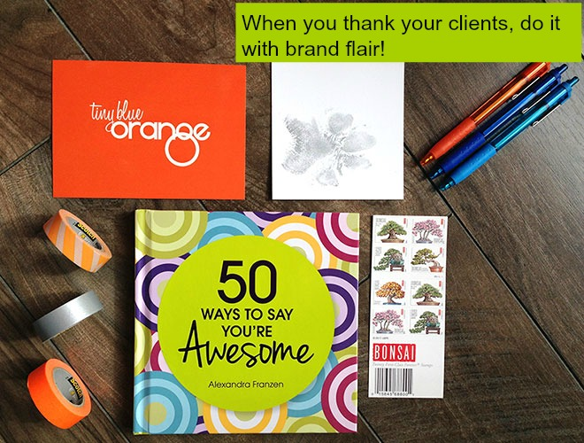 Post image for 6 reasons to thank your clients + how to do it