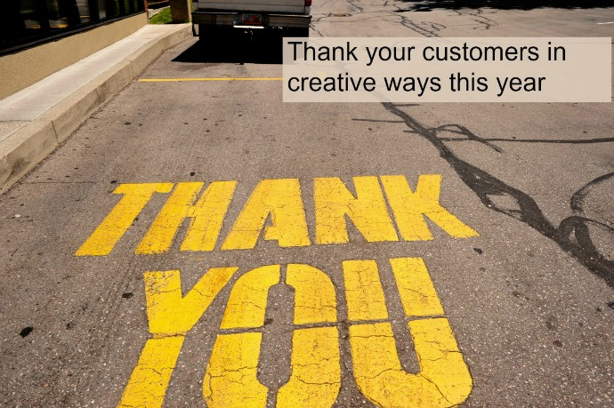 3 insanely great ways to thank your customers + clients