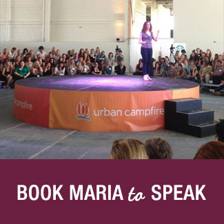 Book Maria to Speak