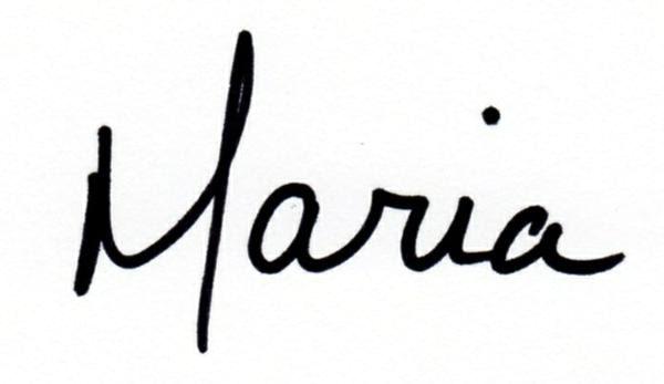 Maria-FirstName-Sig