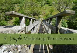 6 Simple Marketing Time-Savers