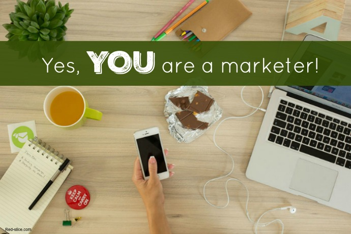 """I am not a marketer."""