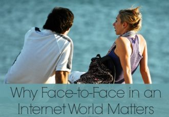 Why Face-to-Face in an Internet World Matters