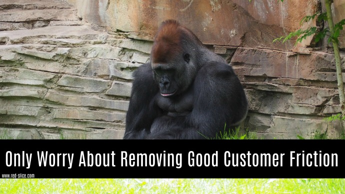 Good vs. Bad Customer Friction