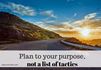 Plan to Your Purpose