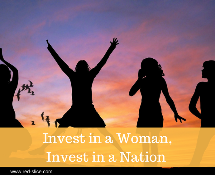 Invest in a Woman, Invest in a Nation