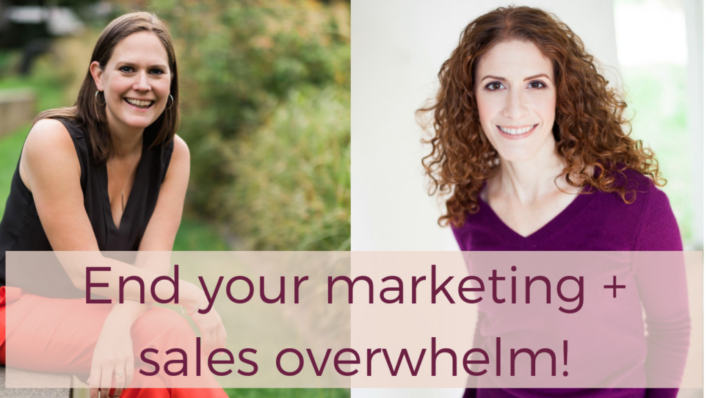 End Your Marketing Overwhelm