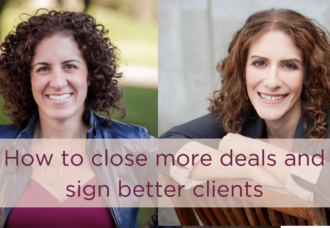 build a sales process and close more deals with Leah Neaderthal