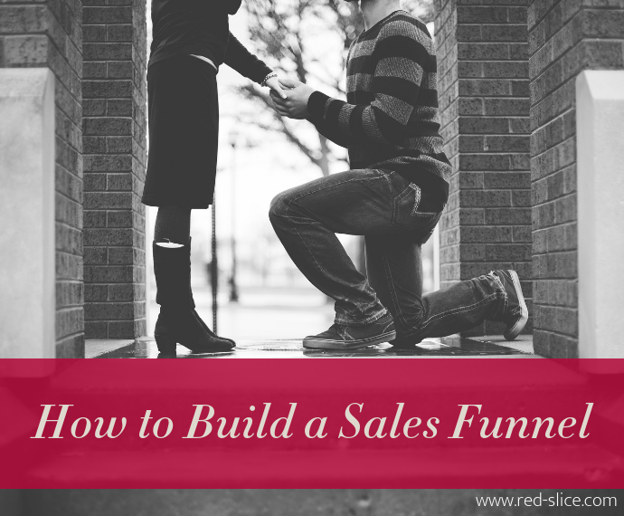 How to Build a Sales Funnel - man proposing