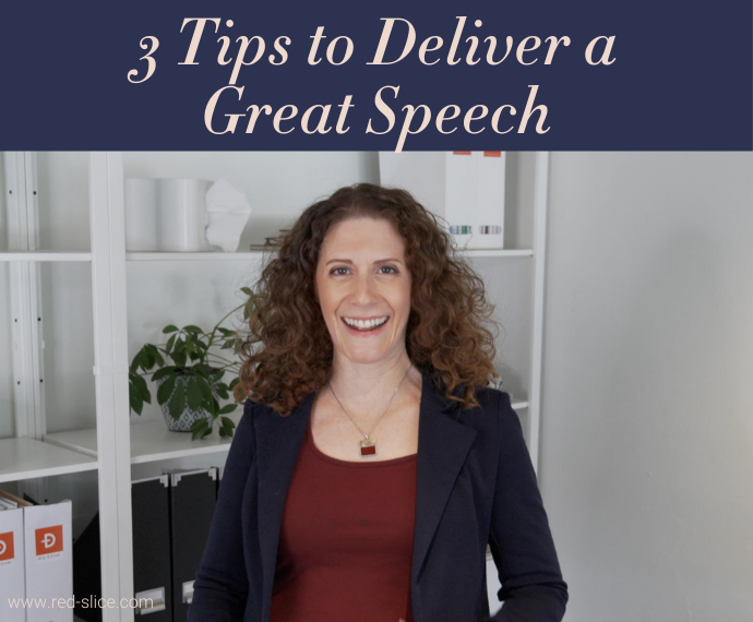 Maria Ross - 3 Tips to Deliver a Great Speech
