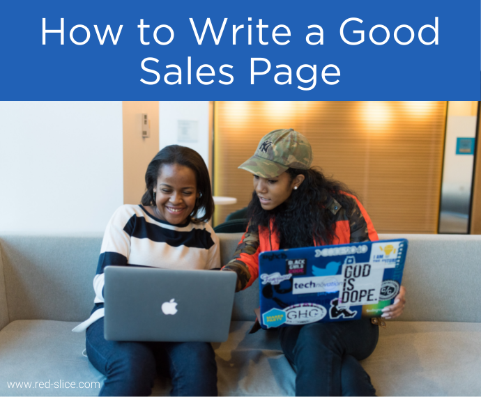 How to Write a Good Sales Page